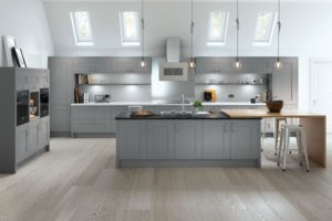 Fairford Dust Grey Main Kitchen