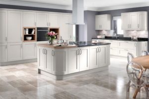 Helford Light Grey Main Kitchen