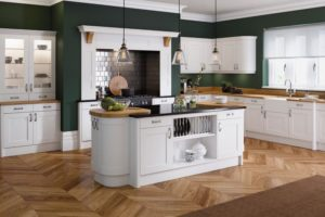Helford White Main Kitchen