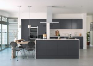 Rimini Anthracite Main Kitchen