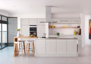 Rimini Light Grey Main Kitchen