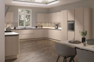 Rimini Sand Beige Main Kitchen
