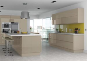 Rimini Stone Grey Main Kitchen