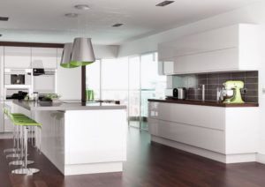 Rimini White Main Kitchen