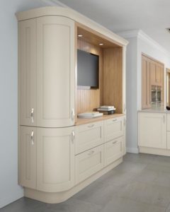 sherbourne mussel tall curved cabinets
