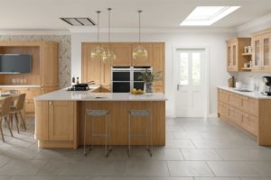 sherbourne natural oak main kitchen